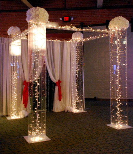 Concord Wedding Center party rentals events decoration tables chairs linens tents
